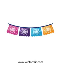 garlands party decoration detailed style icon