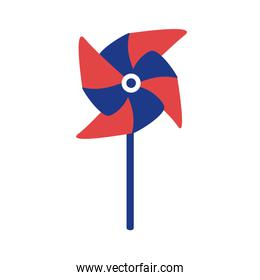 spiral paper toy silhouette style icon