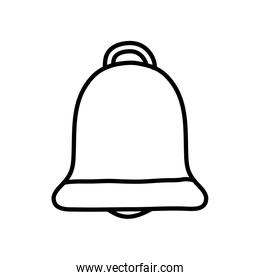 bell ring icon, line style