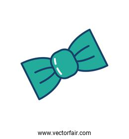 bow tie icon, line and fill style
