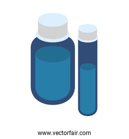 medicine bottle drugs and tube test