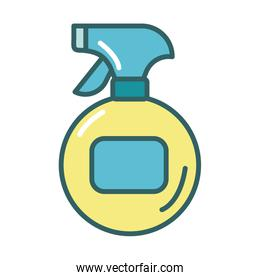 disinfectant spray bottle product fill style