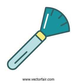 brush dust remover fill style icon