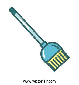 broom tool cleaning fill style