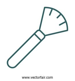 brush dust remover line style icon