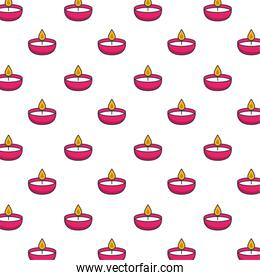 candles fire flames pattern background