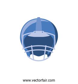 American football helmet vector design