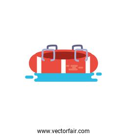 Isolated safe float vector design