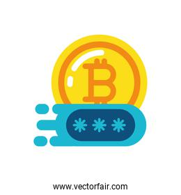 Isolated bitcoin and code vector design
