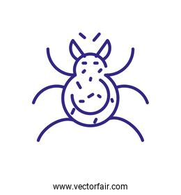 bug icon , line detail style