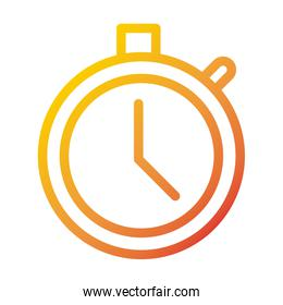stopwatch time internet web technology interface gradient style icon