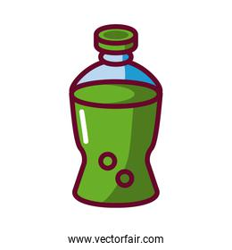 soda plastic bottle icon, fill style icon