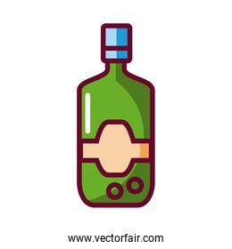 drink bottle icon, fill style icon