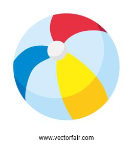 ball baby toy isolated icon desing