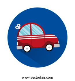 car child toy isolated style icon