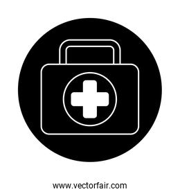medical kit isolated style icon