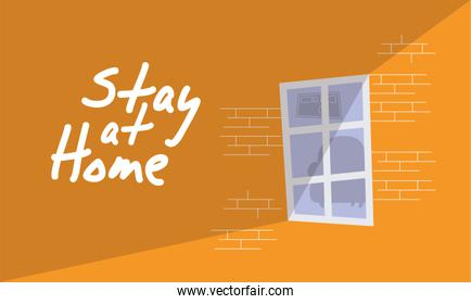 house building stay at home campaign