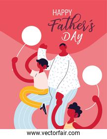man and son, card of the father day
