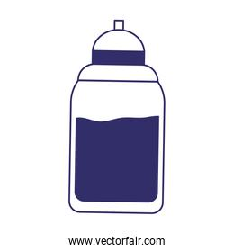 water bottle beverage design isolated icon