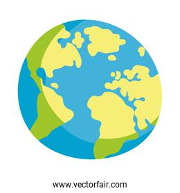 world map location isolated icon design