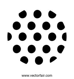 dotted organic pattern line style
