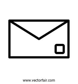 envelope mail send flat style icon