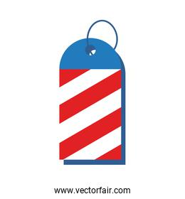 commercial tag usa independence day flat style