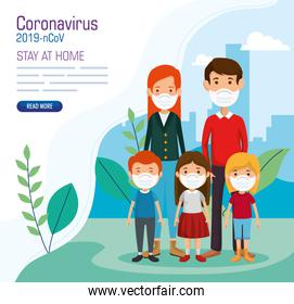 stay at home campaign with fathers and sons