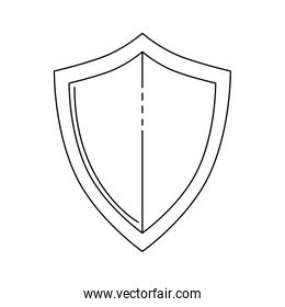 protect guard shield, linear style concept