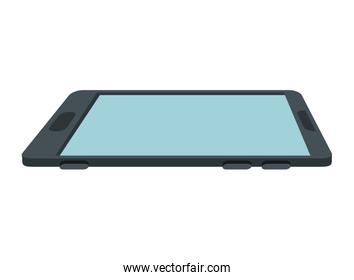 mobile phone, smartphone device on white background