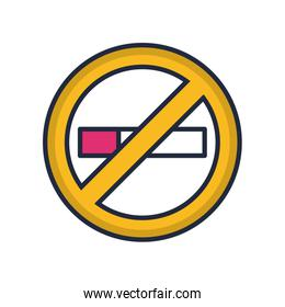 dont smoking fill style icon