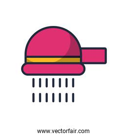 shower tap fill style icon