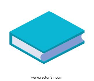 text book library isometric icon