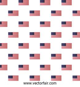 united states of america flags pattern