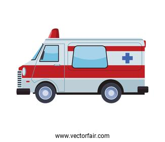 ambulance emergency transport vehicle icon