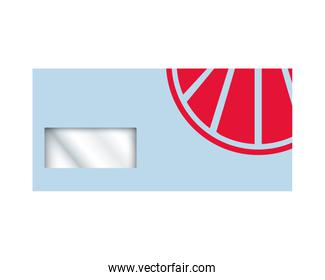 envelope with stationery template