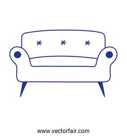 Isolated couch icon vector design