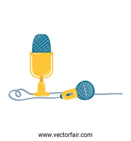 microphone sound audio device icon