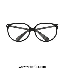 eye glasses accessory optical icon