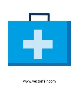 Medical kit with cross vector design
