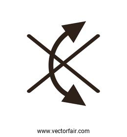 Do not roll flat style icon vector design