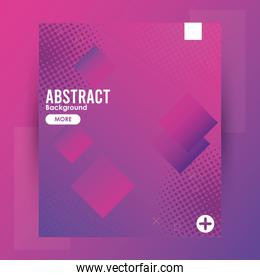 figures colorfull abstract background template