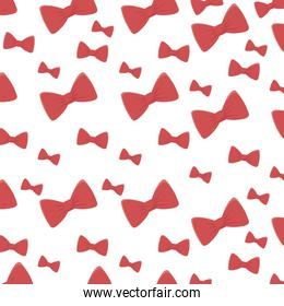 Isolated bowties background vector design