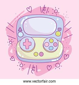 video handheld game console gadget device electronic cartoon