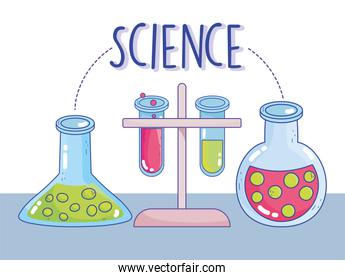 science chemistry test tube rack research laboratory