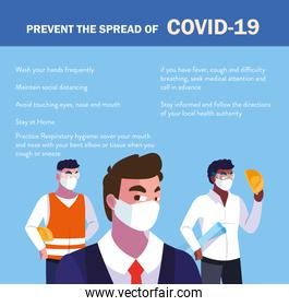 recommendations to prevent covid in industry operators