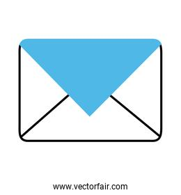 advertising marketing email mobile and e-commerce line and fill style icon