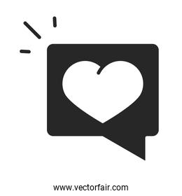 donation charity volunteer help social heart message silhouette style icon