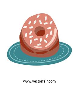 sweet donut pastry free form style icon