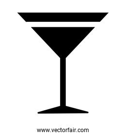 fresh martini cocktail drink line style